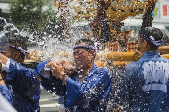פסטיבל השפרצת מים